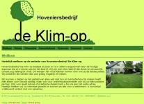 Hoveniersbedrijf De Klim-Op
