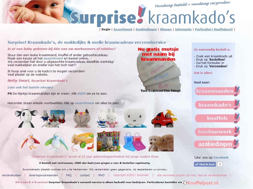 Surprise! Kraamkado's, de kraamkado-verzendservice voor bedrijven